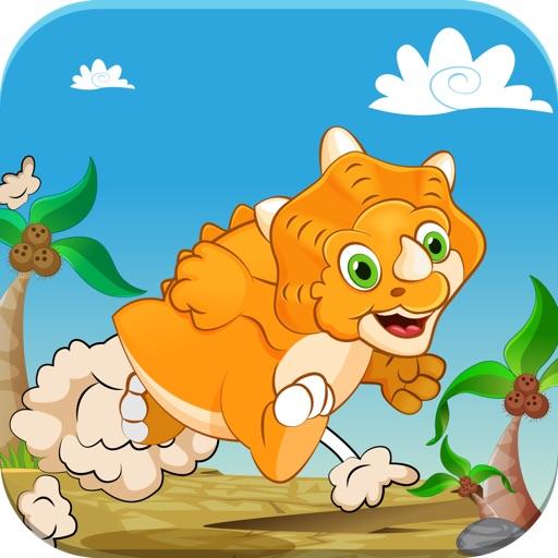 Dino Baby Jump Story – A Cute Friendly Prehistoric Dinosaur Jurassic Jumping Safari FREE iOS App