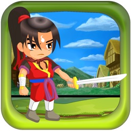 Ninja Girl Runner - Run The Ninja As Fast As You Can! - FREE COOL JUMP FUN