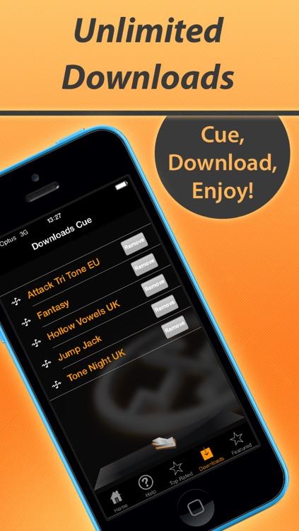 ToneRack Quality Custom Ringtones & Alarms screenshot-3