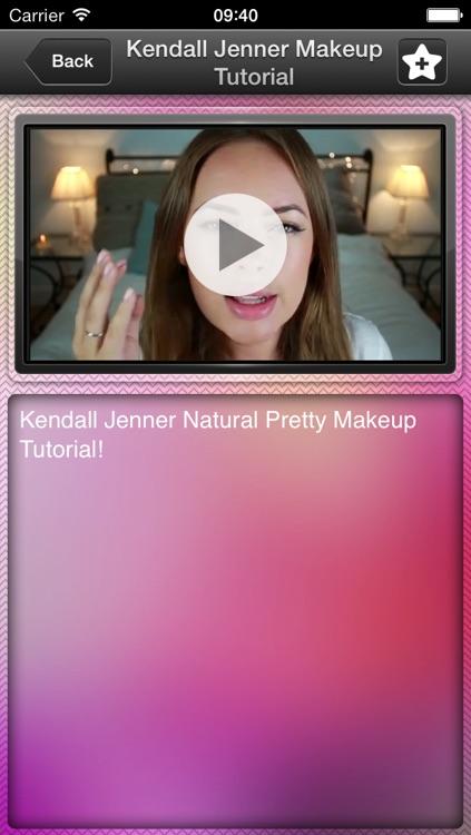 Make Up Free Video Tutorials - Makeup Looks & Tips screenshot-3
