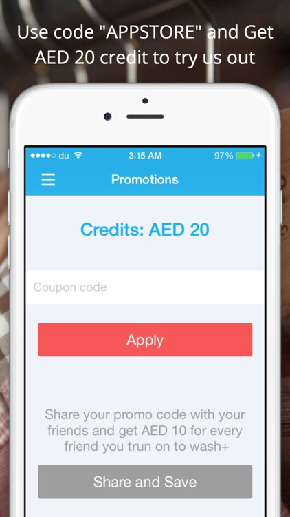 washplus Laundry Pickup and Delivery App - Dubai screenshot-4