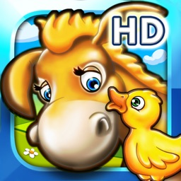 Farm animal puzzle for toddlers and kindergarten kids