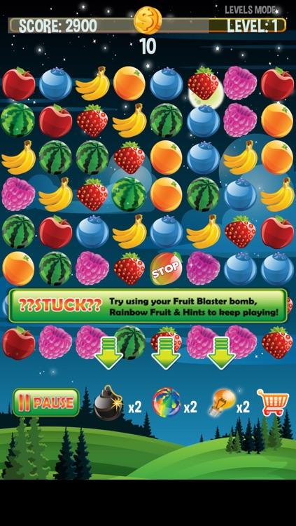 Fruit Blaster Mania - Blastings Fruits like Apples, Blueberry, Banana, Strawberry, Orange, Water Melons and Raspberry screenshot-3
