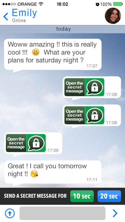 Secret Message Messenger screenshot-3