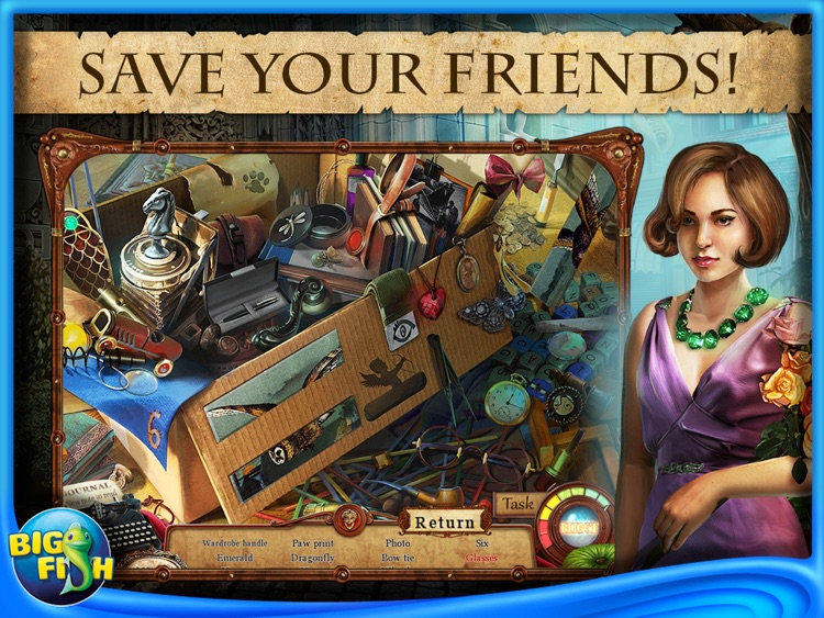 Punished Talents: Seven Muses HD - A Hidden Objects, Adventure & Mystery Game screenshot-1