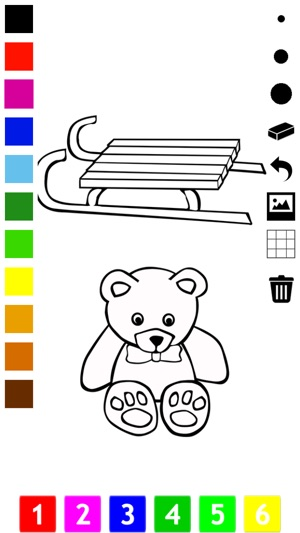 Buku Mewarna Mainan Untuk Kanak Kanak Dengan Banyak Gambar Seperti