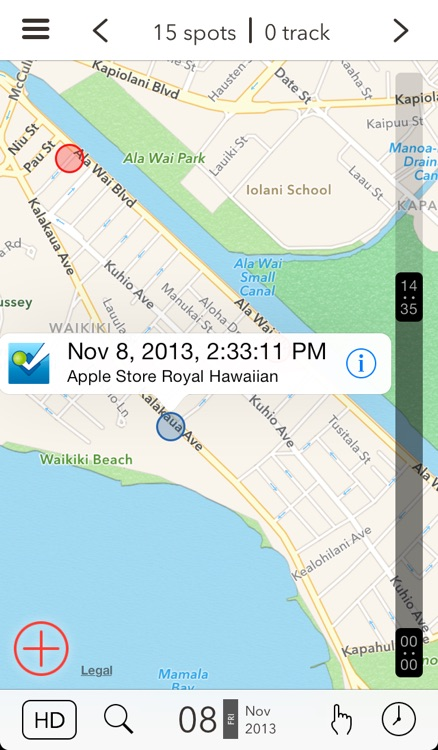 Spottizmo! - The GPS Logger for the Rest of Us