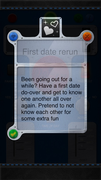 Date Night! - Ideas Generator For Romantic Things To Do by Johnson Dang