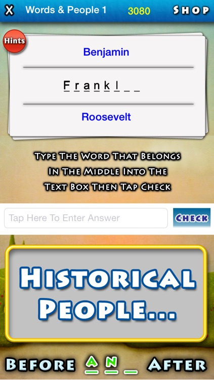 Before And After - The Word In The Middle Puzzle Game screenshot-3