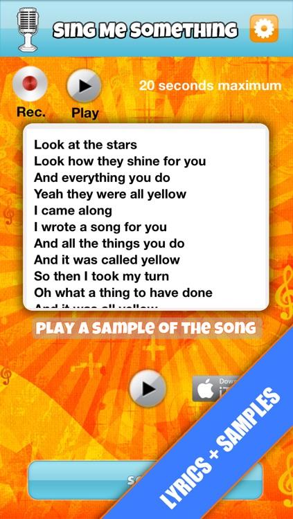 Sing Me Something-Free