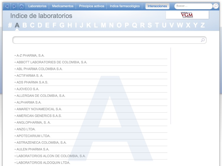 Vademécum VGM Colombia screenshot-2