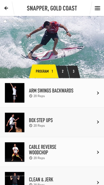 Joel Parkinson Pro Surf Training