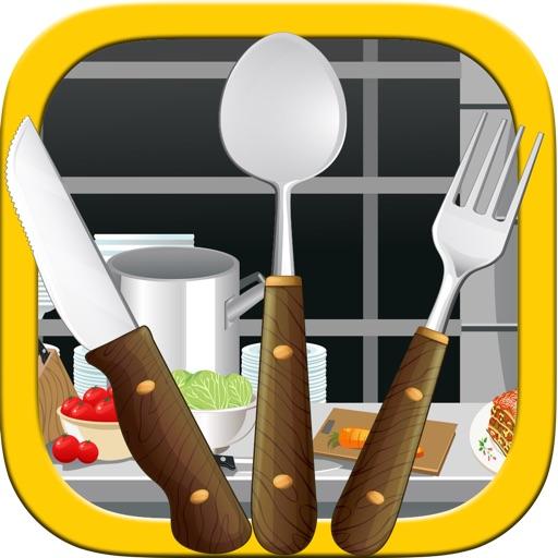 Crazy Kitchen Helper - An Awesome Pick up Sticks Mania