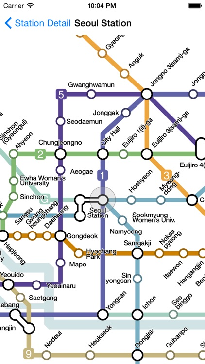 Seoul City Metro - Seoul, South Korean Subway Guide