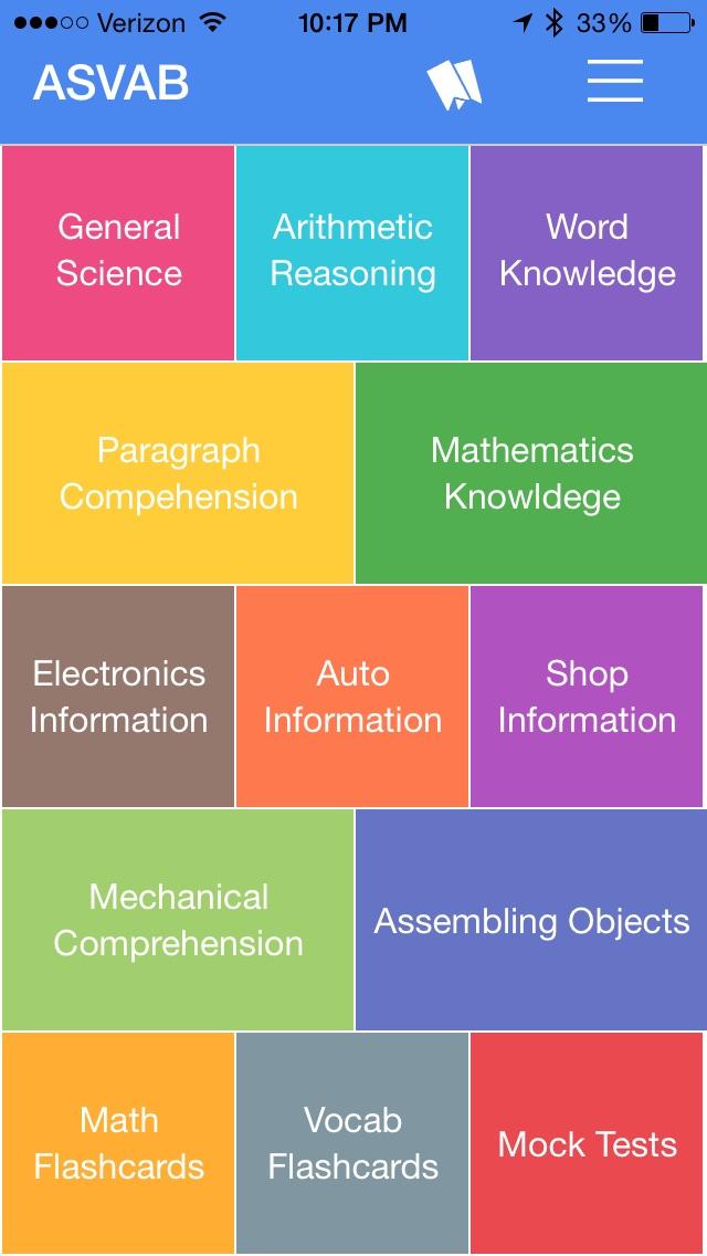 ASVAB Practice Kit app image