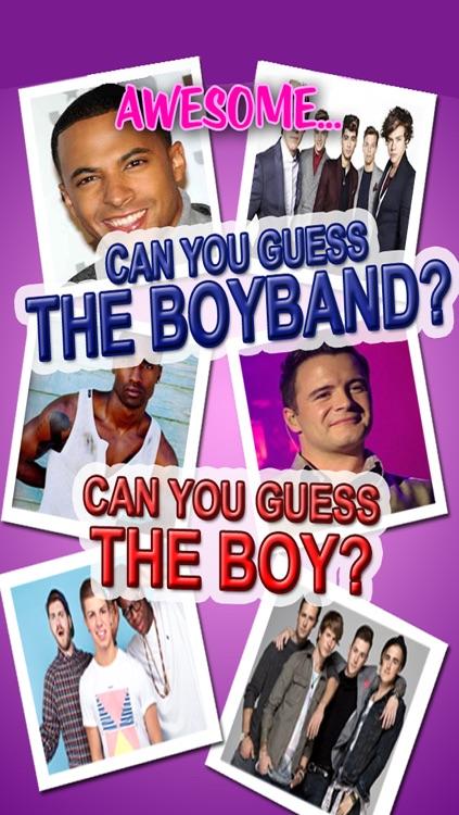Music Quiz - BoyBand Fan Edition