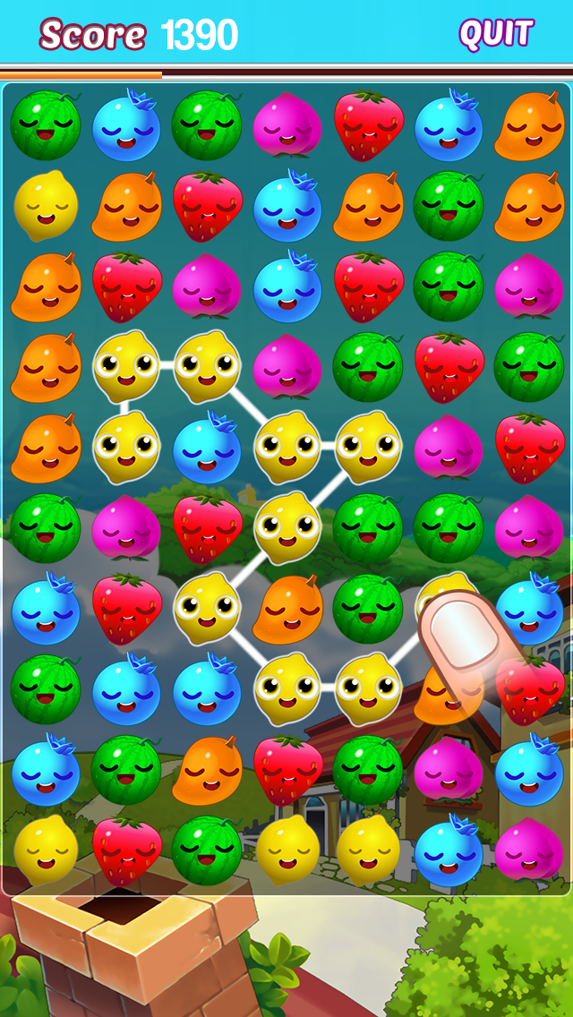 Fruit Jam Match Mania Free Multiplayer Match Three Puzzle