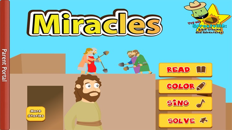 The Amazing Miracles of Jesus: Learn about God with Children's Bible Stories, Games, Songs, and Narration by Joni of Joni and Friends!