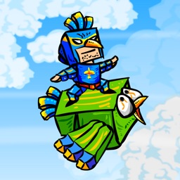 Blue Bird Man Rider