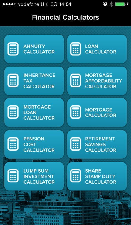 Financial Calculators App
