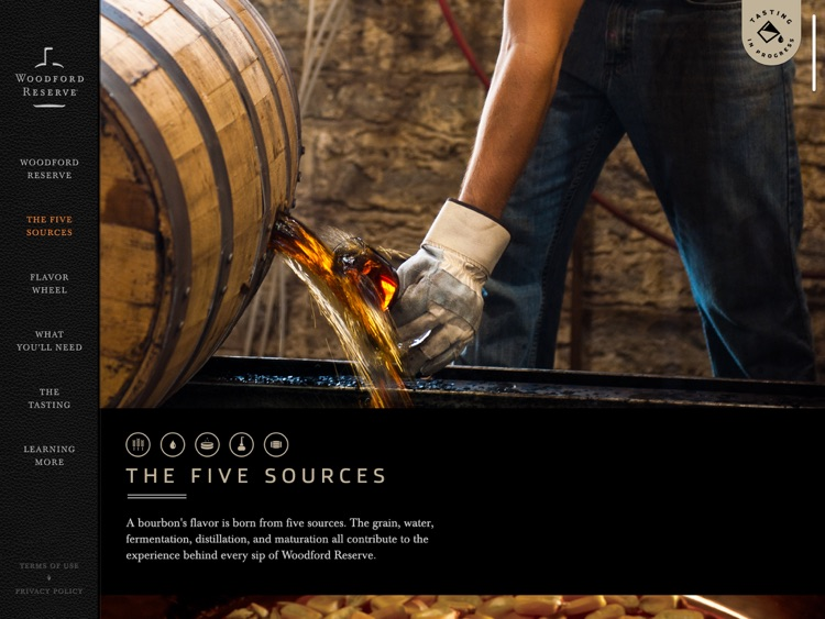 Woodford Reserve Tasting Experience
