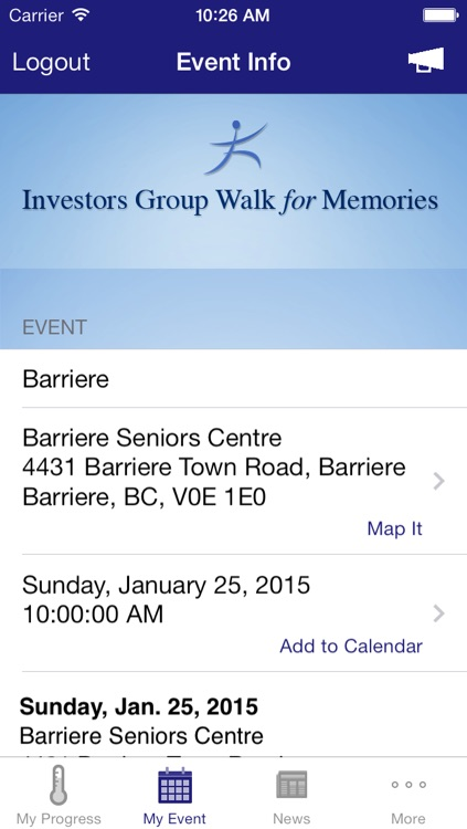 Investors Group Walk App screenshot-4