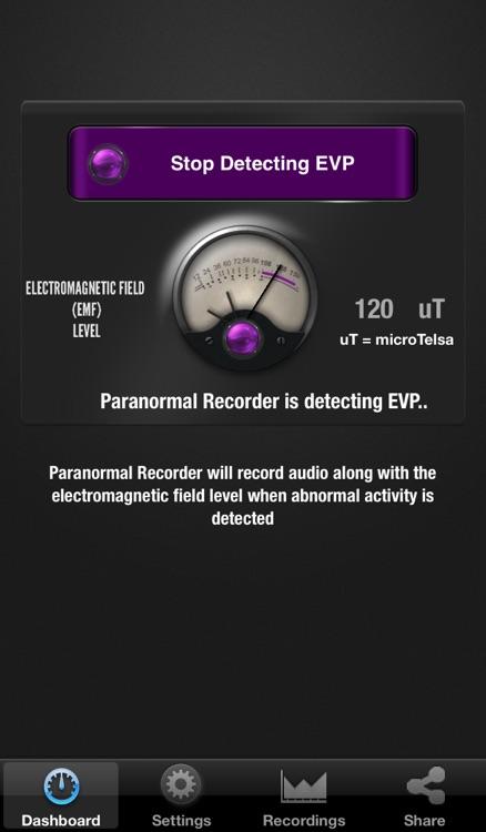 Paranormal Recorder