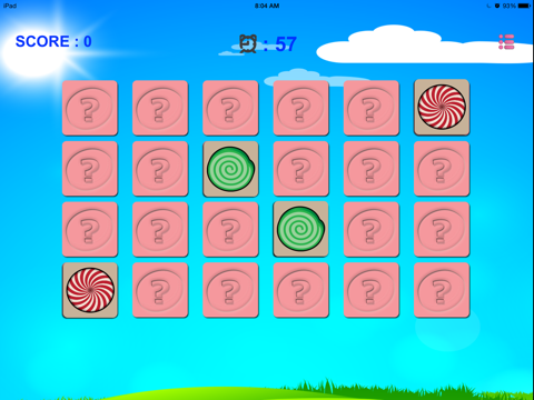 Sweet Candy Match - Lollipops Candies Card Game for Kids, Boys & Girls-ipad-2