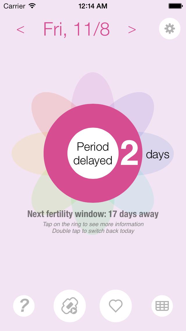 Ovulation and Pregnancy Calendar (Fertility Calculator, Gender Predictor, Period Tracker)Screenshot of 3