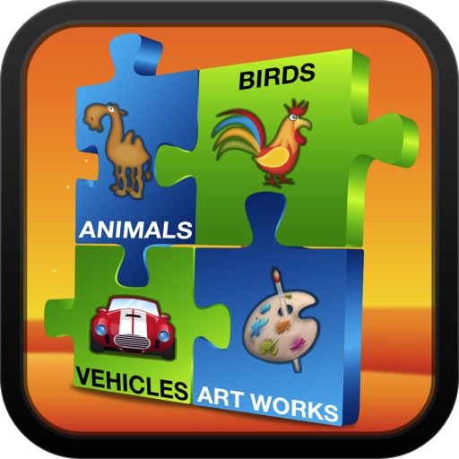 Fun and Learn : Amazing Jigsaw Puzzle icon
