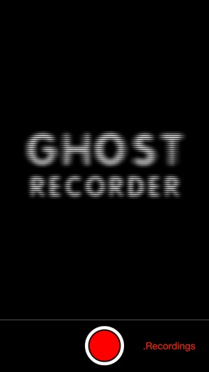Ghost Recorder on the App Store
