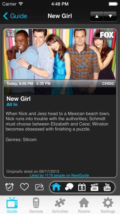 NextGuide Remote with Free TV Guide, Netflix Queue Management and Roku Wifi Control screenshot-4