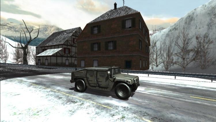 Car Race Winter screenshot-3