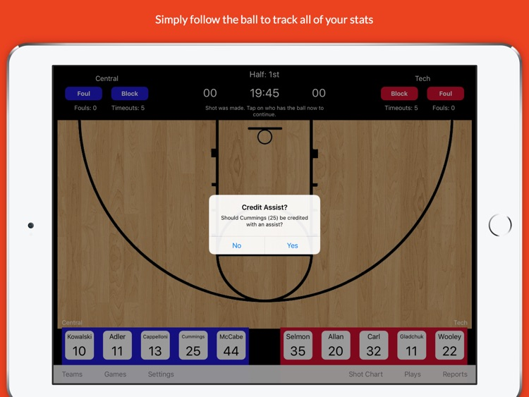 StatGeek Basketball screenshot-3