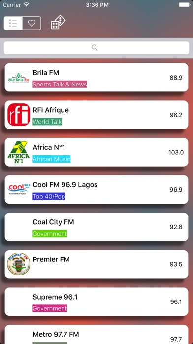 Niger Live Radio Player Free screenshot two