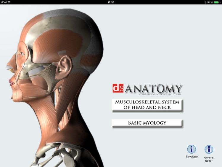 DS ANATOMY HEAD & NECK