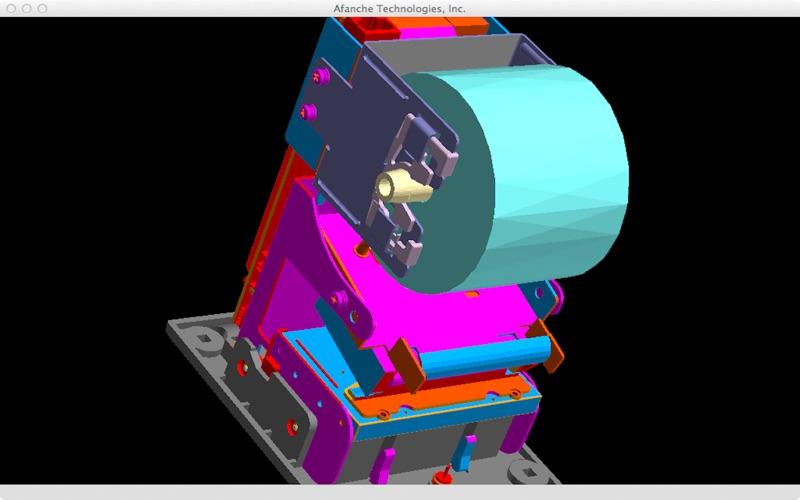 STEP Viewer 3D скриншот программы 2