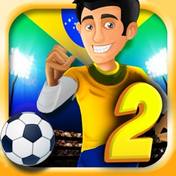 A Brazil World Soccer Football Run 2 2014: Road to Rio Finals - Win the Cup!