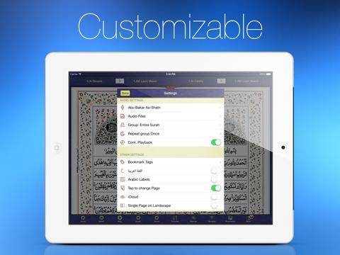 Quran Kareem HD for iPad screenshot four