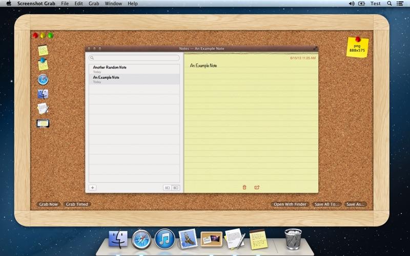Screenshot Grab скриншот программы 2