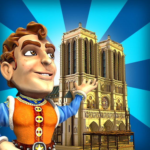 Monument Builders: Notre Dame de Paris HD icon