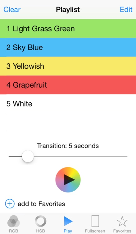 ColorFade