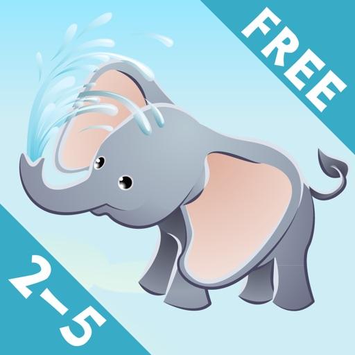 Игра для детей 2-5 лет о животных сафари: Игры и головоломки для детского сада, дошкольного или детский сад с лев, слон, крокодил, бегемот