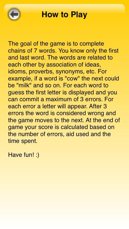 Link That Word Lite screenshot-3
