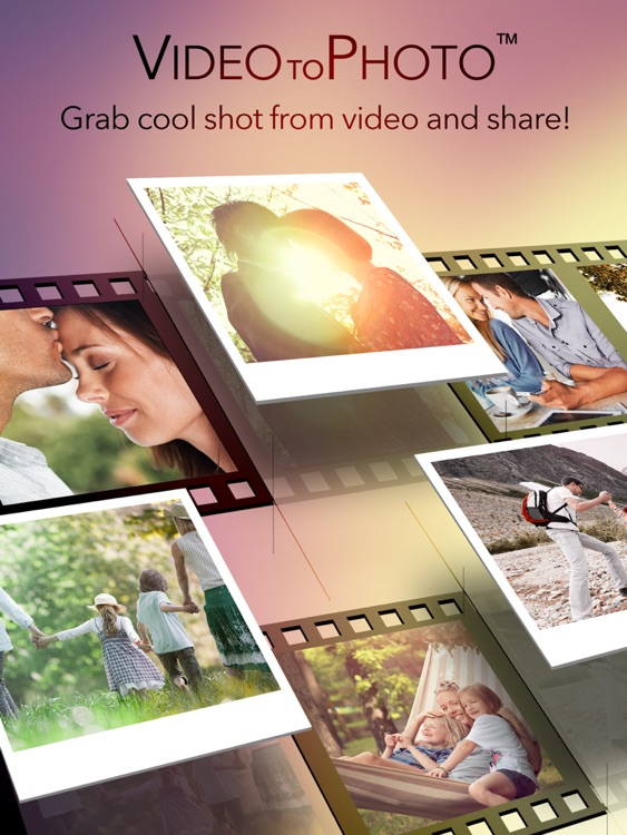 Video to Photo - Grab Still Pictures from Video Frame Capture Tool iPad Edition