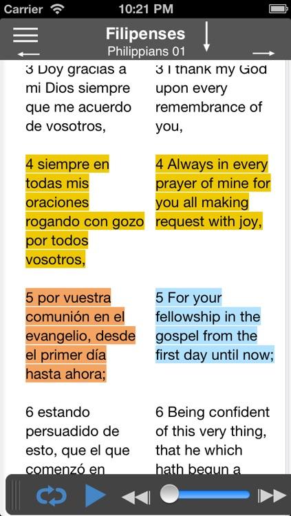 Santa Biblia Audio screenshot-3