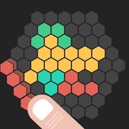 Hex Block Pop - Unroll & Unblock Tiles Slide Puzzle for 10/10 Me version