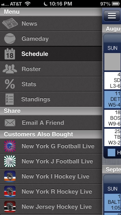 New York Y Baseball Live