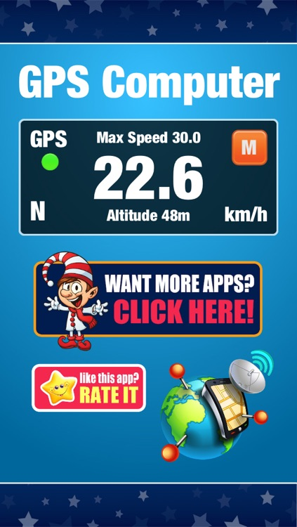 GPS Computer - Car, Bike, Motorcycle Ride Tracker and Speedometer