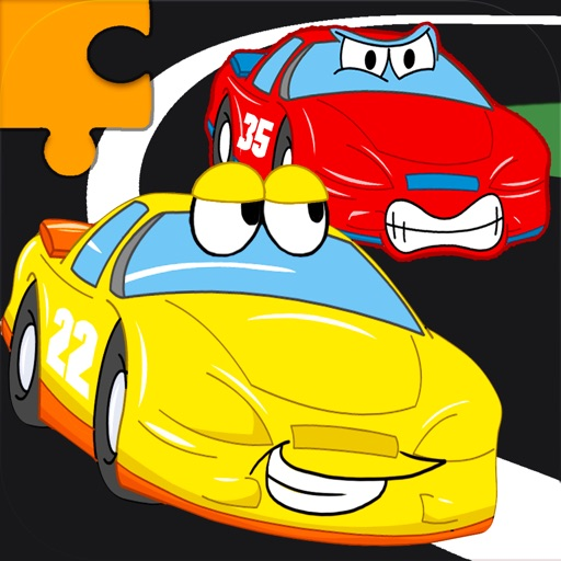 Cars Jigsaw Puzzles - Animated Kids Jigsaw Puzzles with fun Car, Truck And Vehicle Cartoons - By Apps Kids Love, LLC iOS App